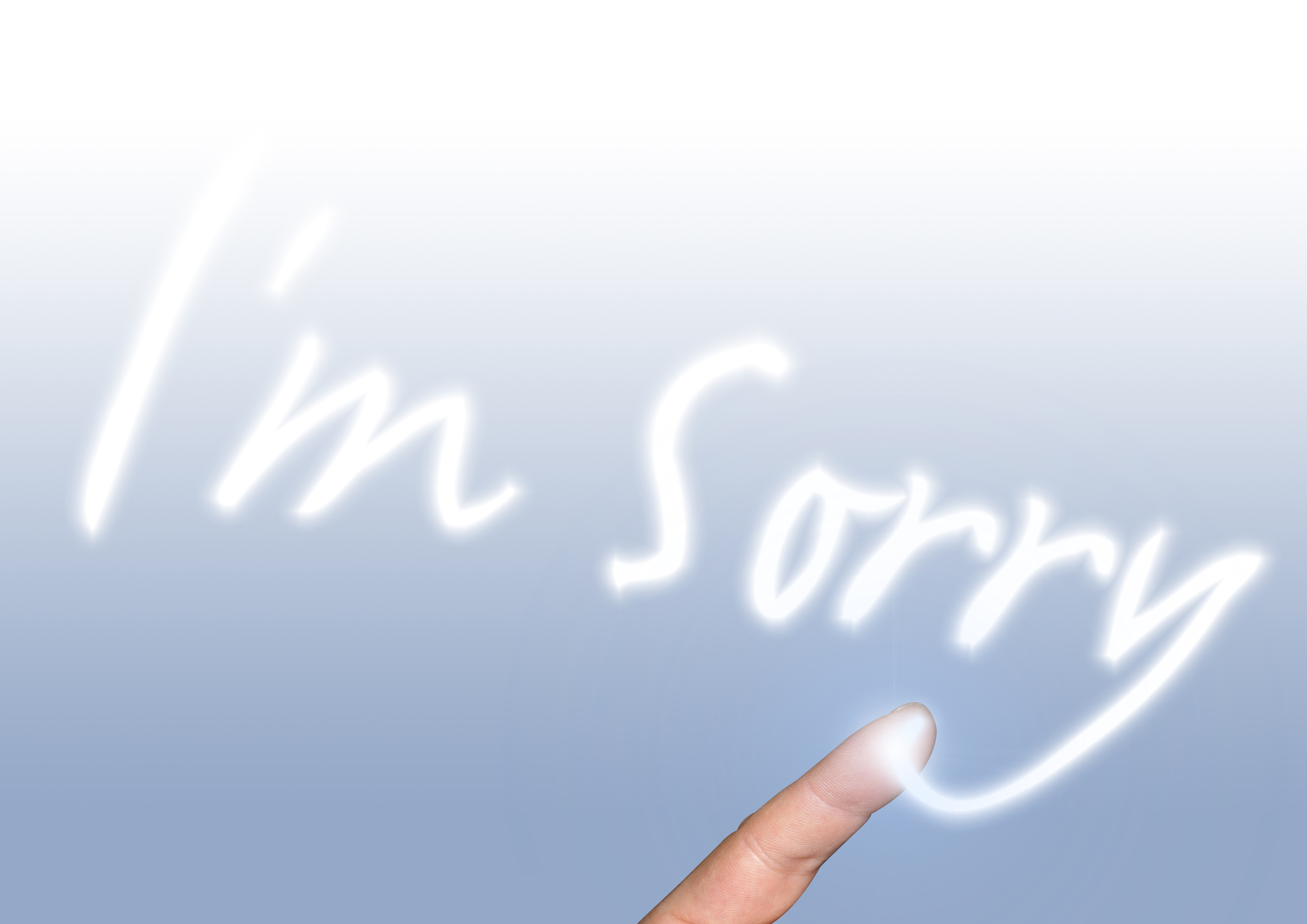 PR Means Having To Say You're Sorry