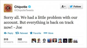 Oh, No! This Blog Was Hacked! (Chipotle's PR Stunt Shows Poor Taste)