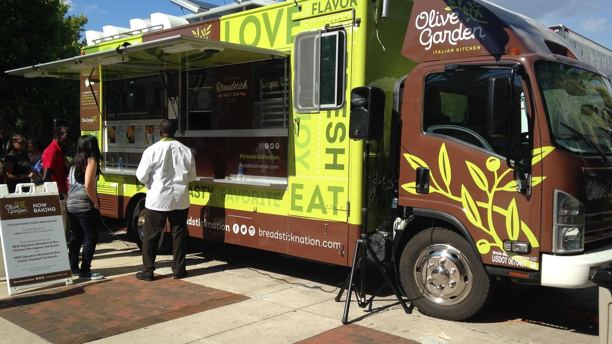 6 PR Lessons From The Olive Garden Food Truck