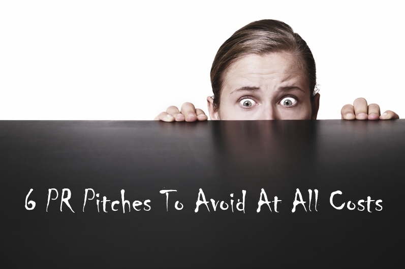 Avoid PR pitches