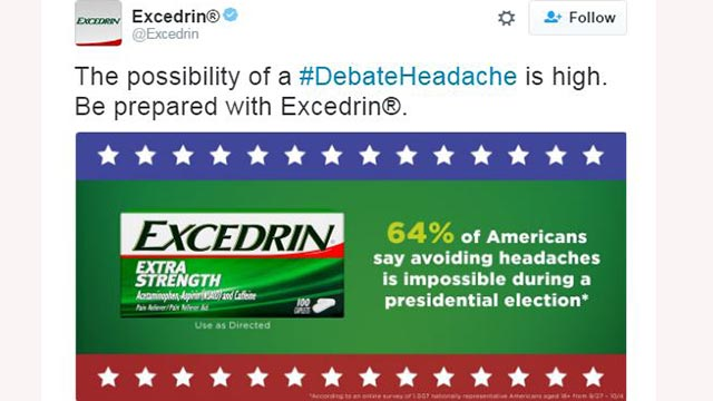 Social Hashtag Campaign Is A PR Winner For Excedrin