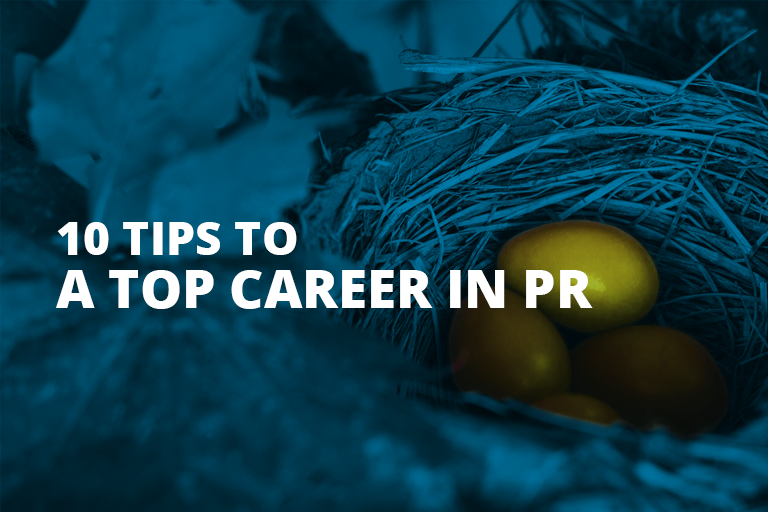 5 Tips To A Successful PR Career