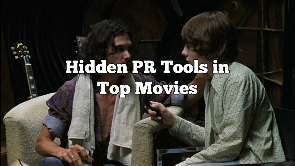 Hidden PR Tools in top movies