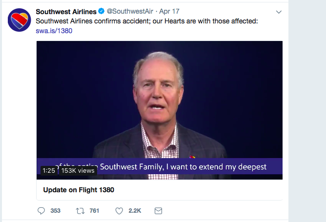 Southwest Airlines CEO