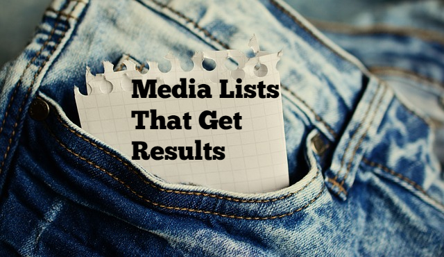 Building Media Lists That Get Results