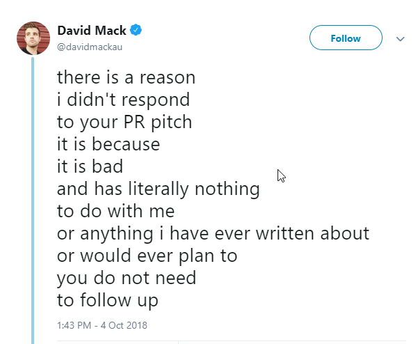 Pr pitches
